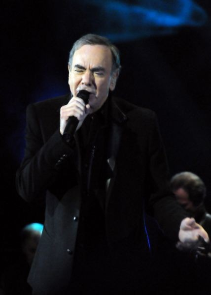 Neil Diamond brings the cheese, for better or worse
