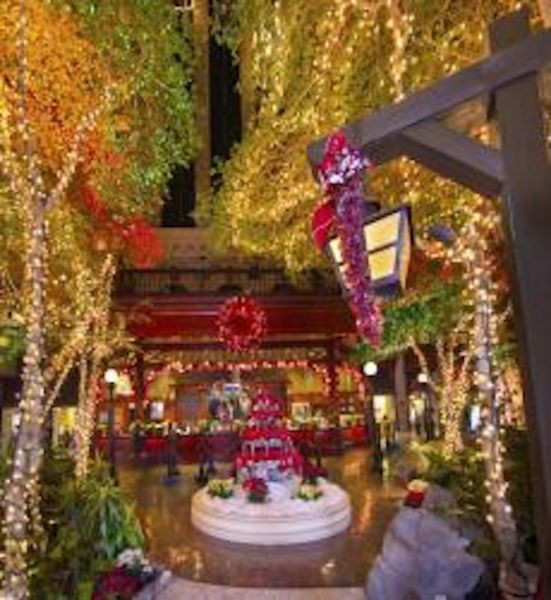 sams town opens annual winter wonderland holiday display