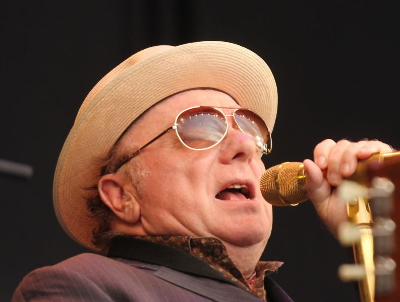 Did you get healed van morrison