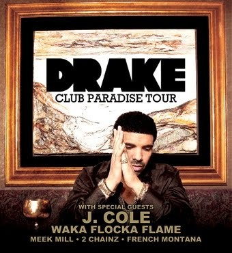 Drake announces summer 2012 headlining tour dates