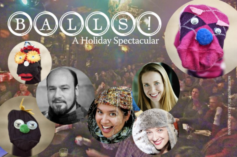 Sock puppets, sing-a-longs and more: 'Balls! A Holiday Spectactular'