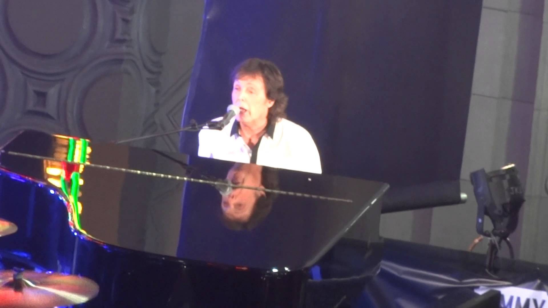 Paul McCartney rocks Hollywood performing 'Let It Be' for 'Kimmel'