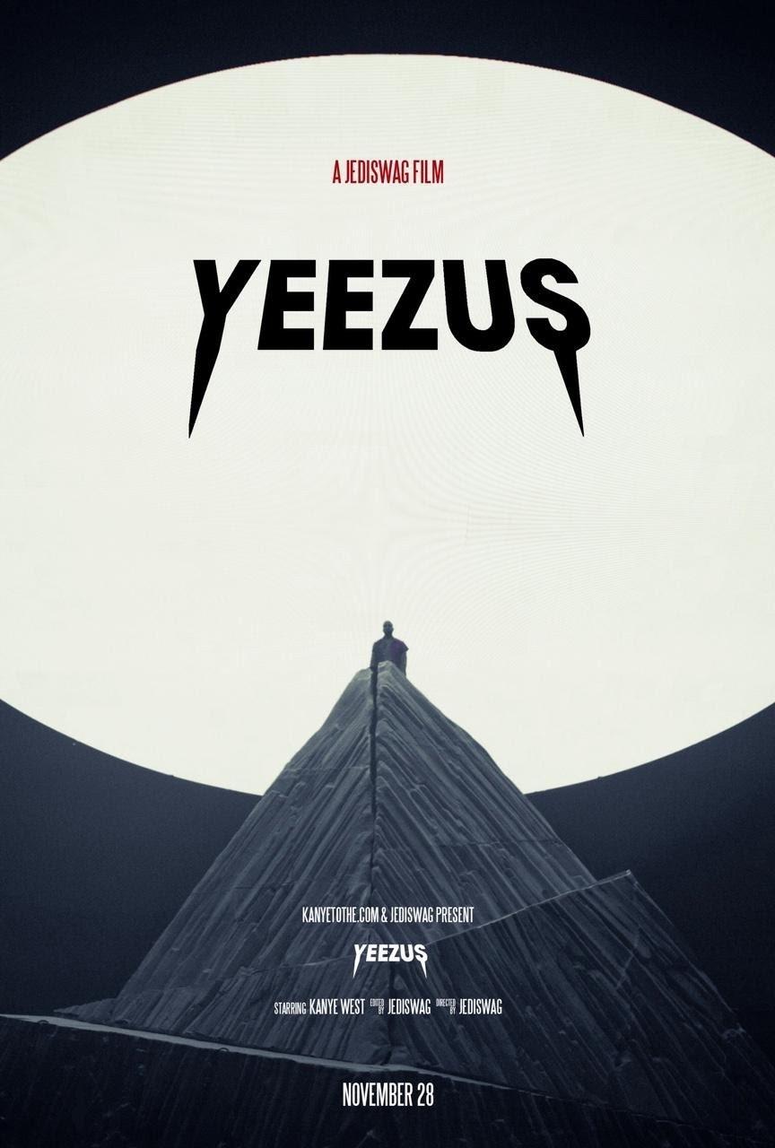 Kanye Yeezus Tour Poster
