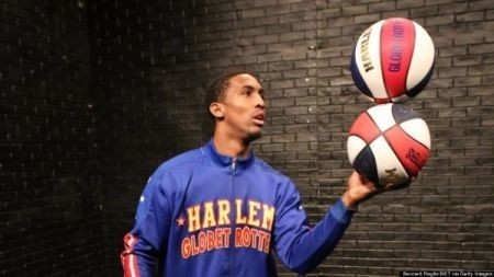 The Harlem Globetrotters spin their way to Denver