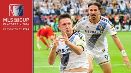 The LA Galaxy first to five MLS Cups