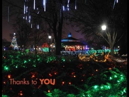 Best Places To See Christmas Lights In Chicago