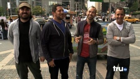 how did the guys from impractical jokers meet michael