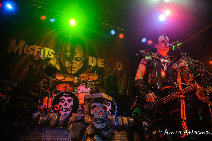 The Misfits perform to several packed venues in SoCal