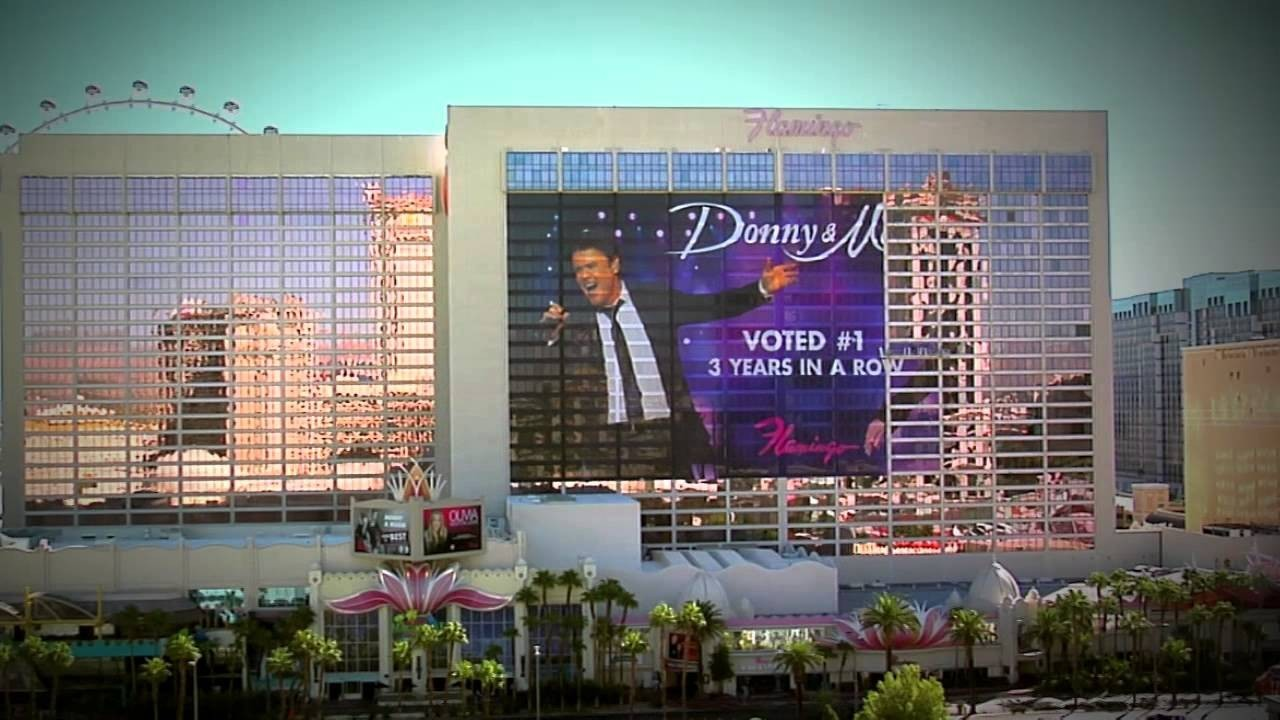 Donny and marie extend residency at flamingo las vegas axs for Nspi pool show vegas