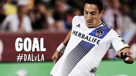 Stefan Ishizaki is nominated for the LA Galaxy Goal of the Year.