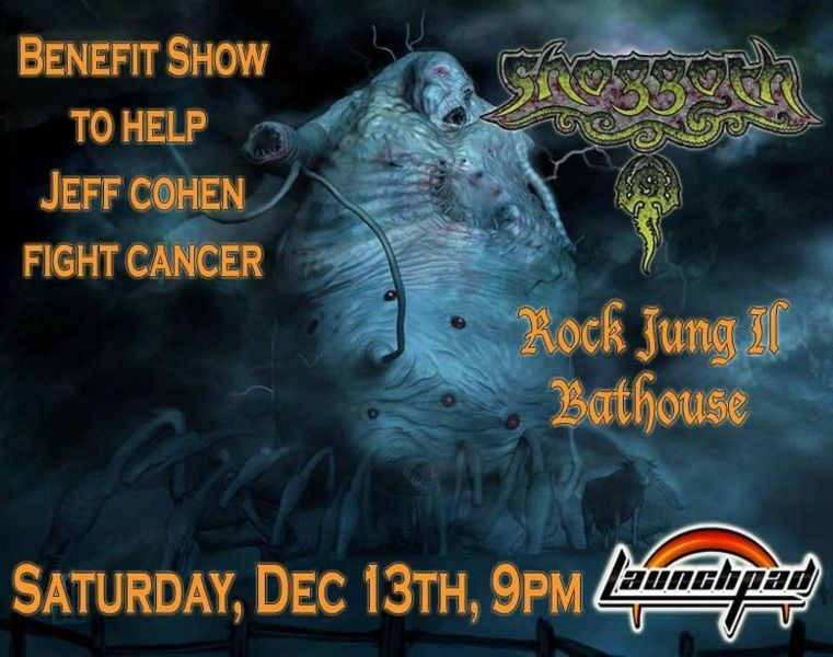 Shoggoth and guests perform benefit concert at Albuquerque's Launchpad