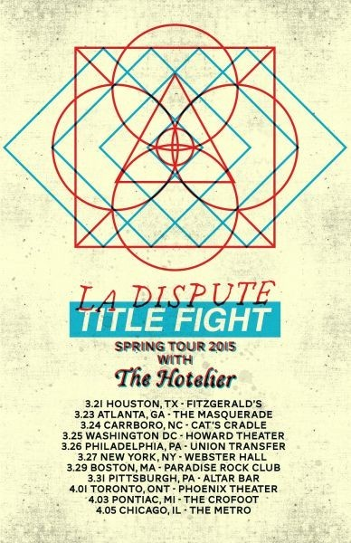 La Dispute & Title Fight announce a co-headlining tour