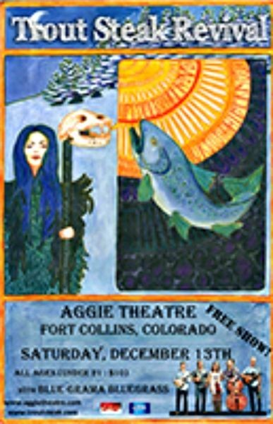 Tonight: Free show at Aggie Theatre featuring Trout Steak Revival