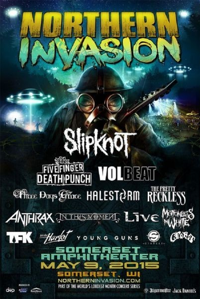 Northern Invasion Rock and Camping Festival debuts