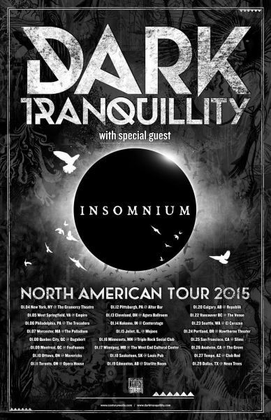 Into the void tour dates