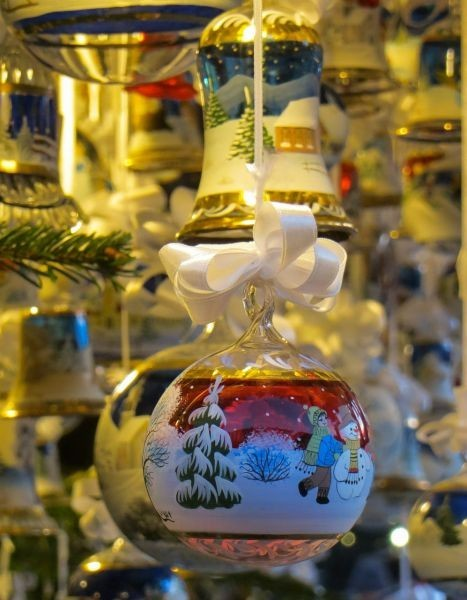 Christmas in Prescott: If you love old fashioned glass ornaments, check out the plus selection of The Merck Family's Old World Christmas Glass Ornaments available at Christmas in Prescott. They come in a variety of holiday images, from animals to Biblical to western.