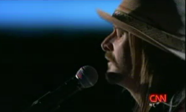 Kid Rock shares inspiration on CNN Heores red carpet