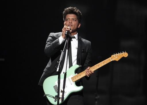 Bruno Mars, Lady Gaga join MTV EMA line up