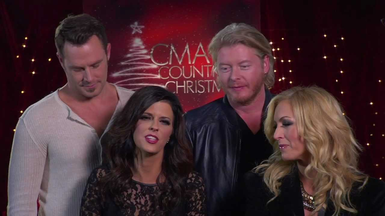 the band perry lady antebellum go behind the scenes of cma country christmas