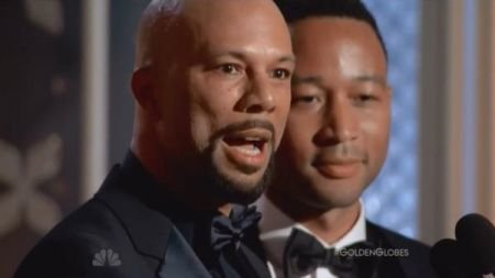 John Legend, Common win Golden Globe Award for Best Original Song