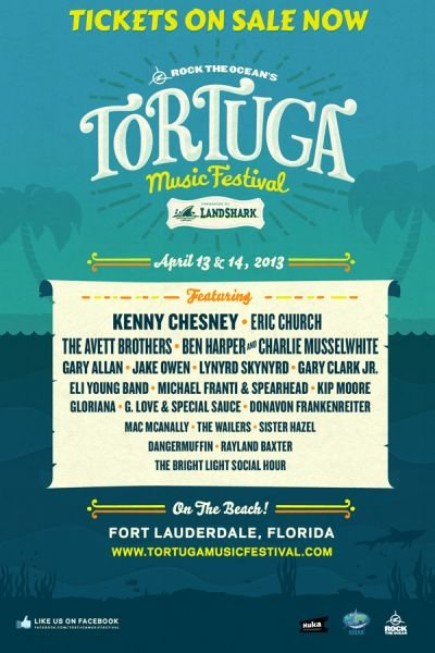 Tortuga Music Festival brings country music to Fort Lauderdale Beach