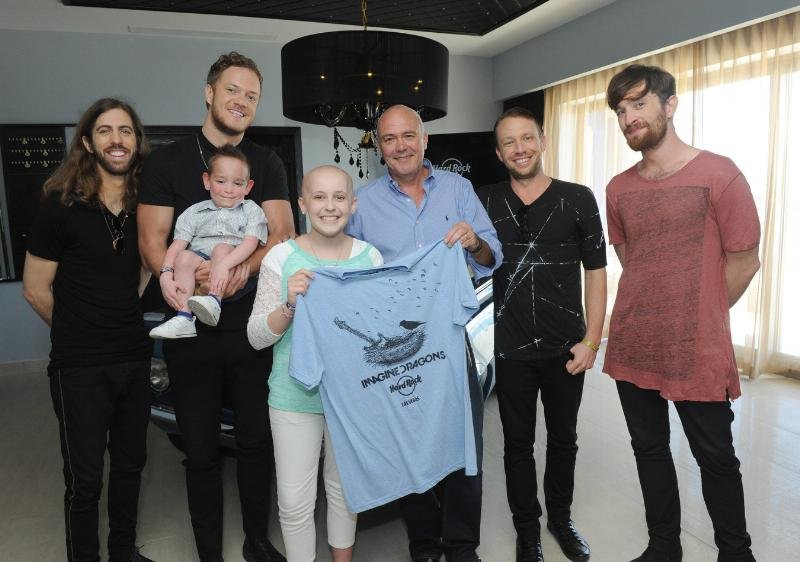 Imagine Dragons partnering with Hard Rock to help the Tyler Robinson Foundation