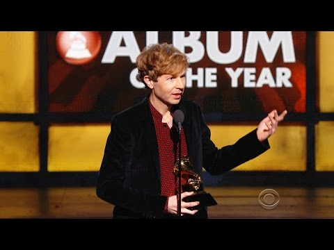 Beck walks with the big Album of the Year at Grammy Awards