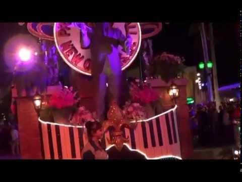 Mardi Gras is in full swing at Universal Studios Florida