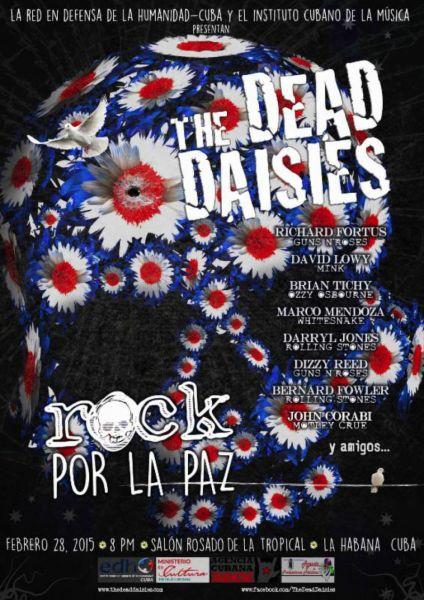 The Dead Daises prepare to head in Cuba