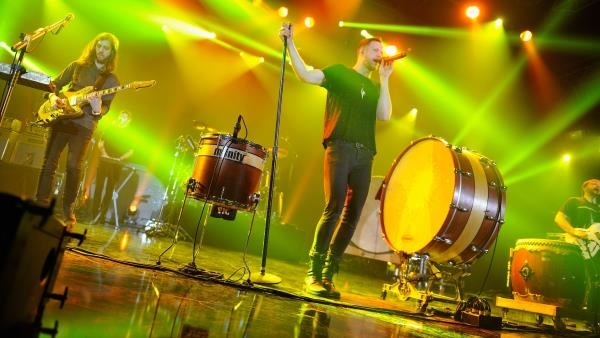 Imagine Dragons reach top spot on Billboard 200 chart with 'Smoke + Mirrors'