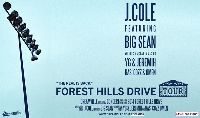 J. Cole tickets at The Music Farm - Columbia, Columbia