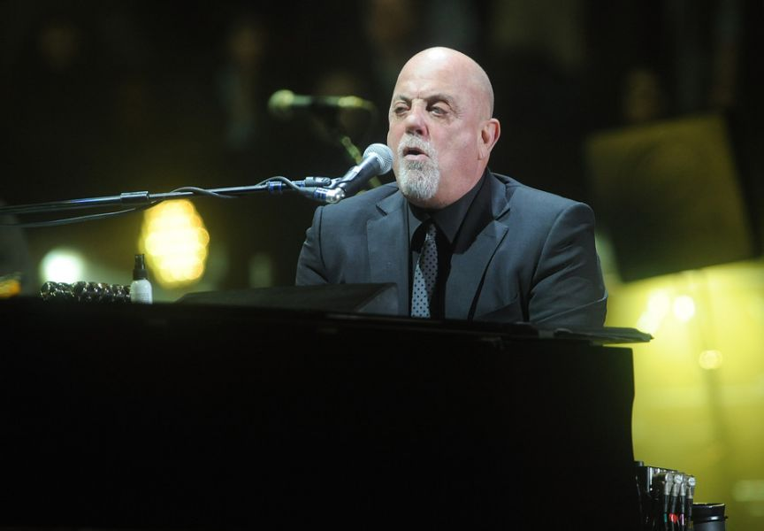 Billy Joel rocks Madison Square Garden in New York City