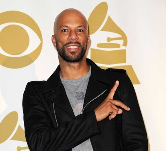 Common backstage at the 2011 Grammy Nominations Concert