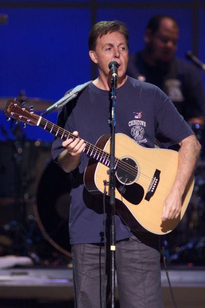 Paul McCartney To Perform At Chic Poverty Benefit Gala In New York City