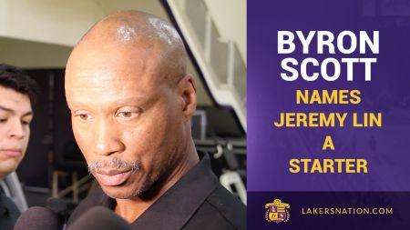Byron Scott says NBA draft, free agent will impact Jeremy Lin's future in L.A.