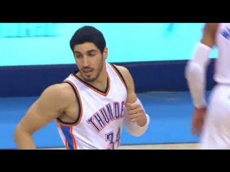 Oklahoma City Thunder: Enes Kanter helping push Thunder into postseason