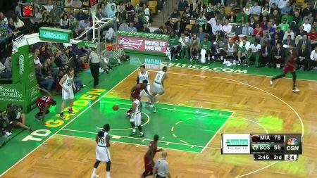 Undermanned Miami Heat burn Boston Celtics, 93-86
