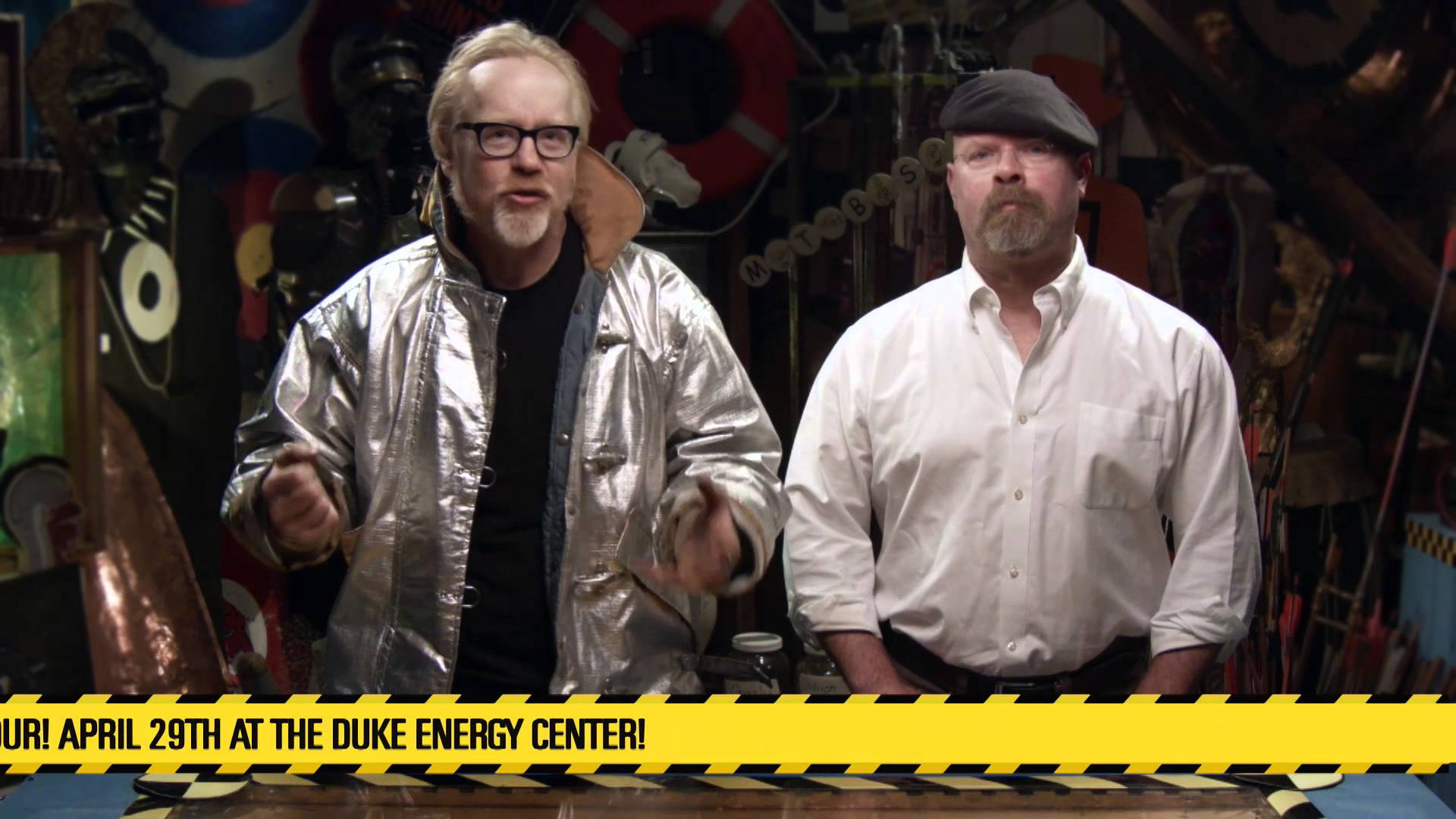 'Mythbusters' stars come to the Bob Carr Theater in Orlando this April