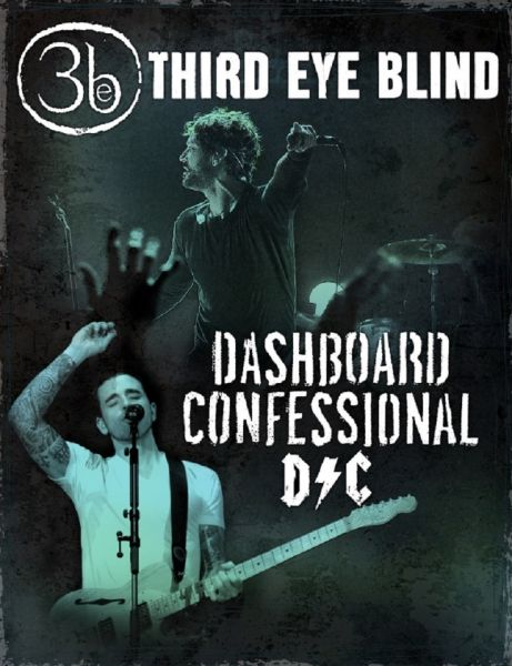 Third Eye Blind and Dashboard Confessional announce summer 2015 tour