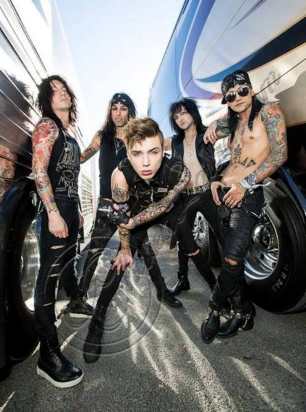 Black Veil Brides added to growing list of featured bands for Vans Warped Tour