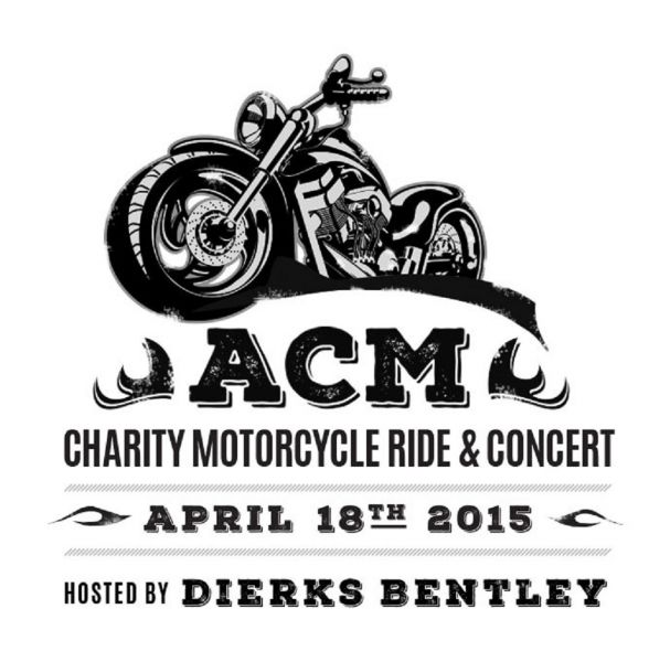 motorcycle anniversary images  Dierks Bentley and ACM 50th anniversary host charity motorcycle ride ...