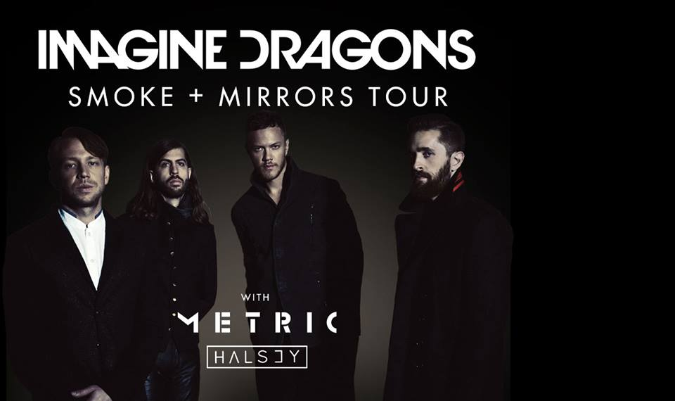 Imagine Dragons: 'Smoke and Mirrors Tour' live at the Tacoma Dome
