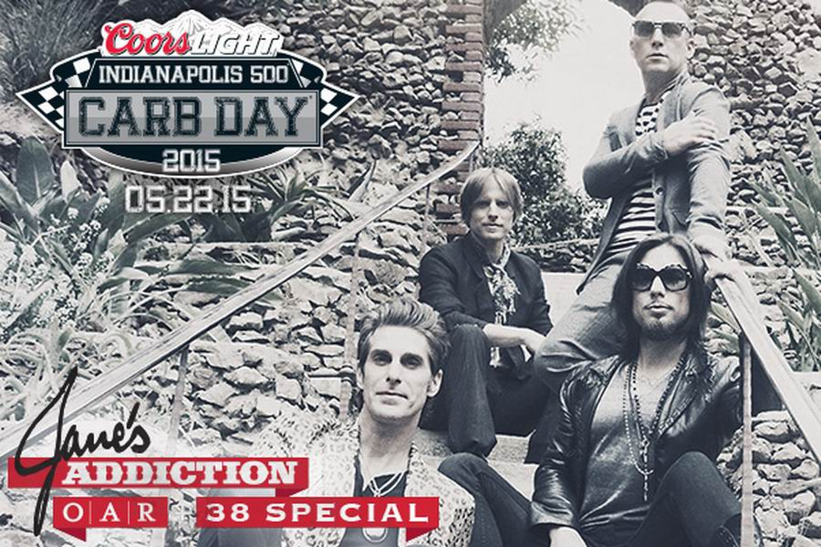 Indianapolis Motor Speedway Announces Bands For Coors Light Carb Day