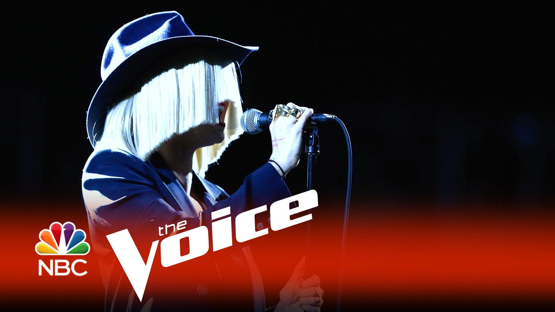 Sia performs 'Elastic Heart' on 'The Voice' Live Playoffs
