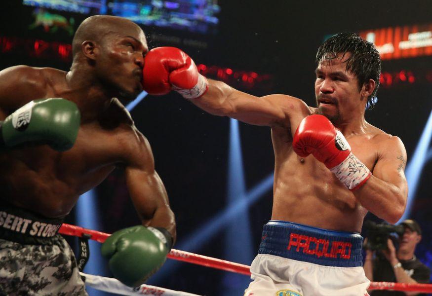 Timothy Bradley: Pacquiao fought Bradley April 2014. The judges scores: Michael Pernick 112-116, Glenn Trowbridge 110-118 and Craig Metcalfe