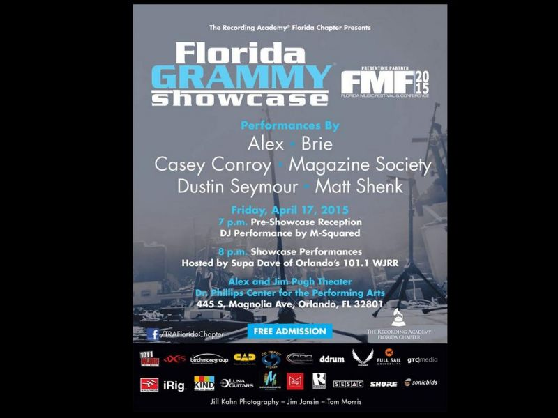 The Grammy Showcase At The Florida Music Festival AXS - 8 great florida music festivals