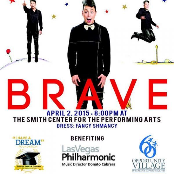 Las Vegas visionary Charles Ressler presents 'BRAVE' for one night