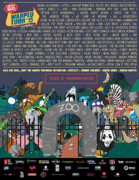 Warped Tour Uk Line Up