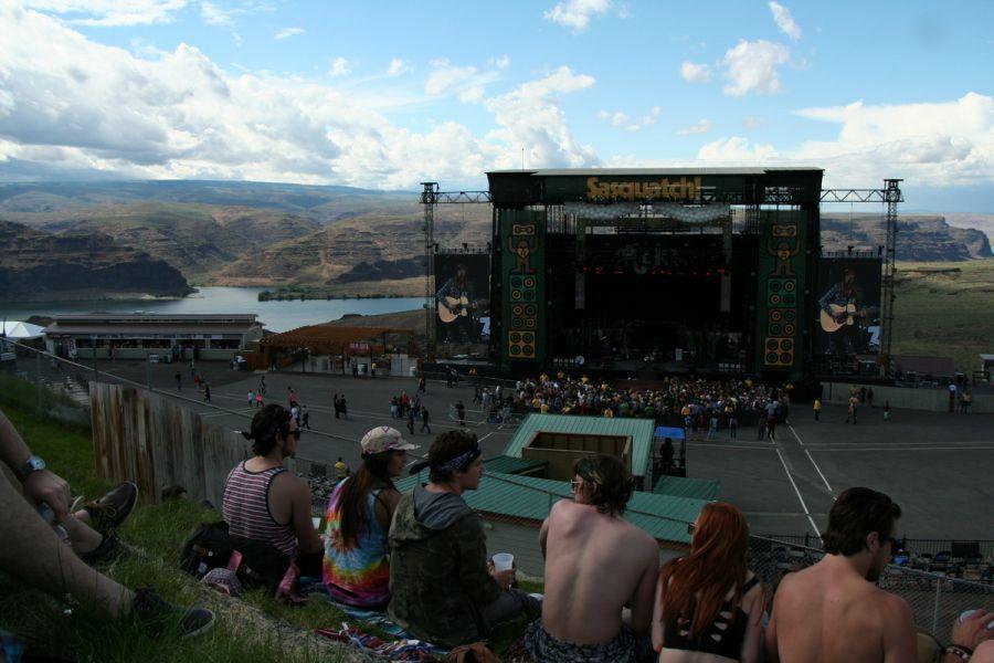 Sasquatch Music Festival - Columbia River Gorge