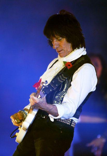 Rock star Jeff Beck